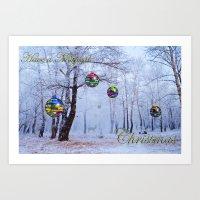 Have A Magical Christmas Art Print