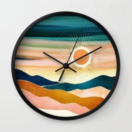 Jewel Dusk Wall Clock
