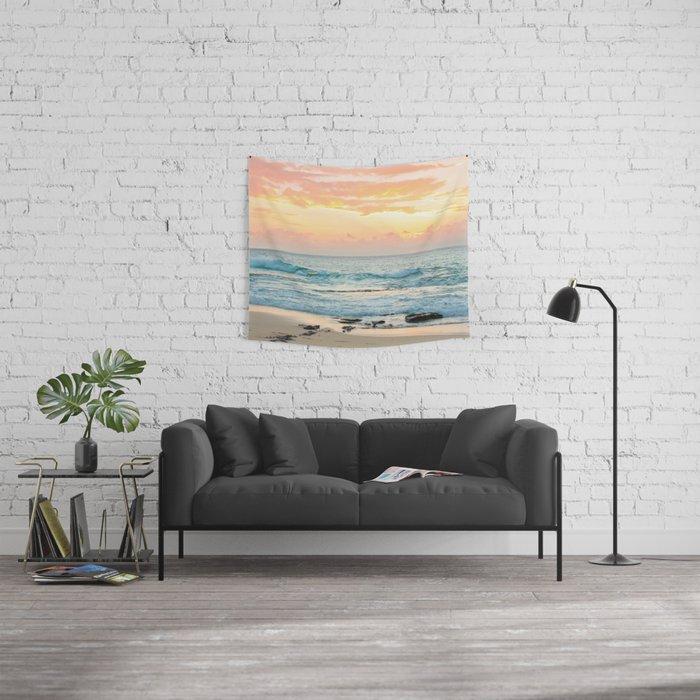Honolulu Sunrise Wandbehang