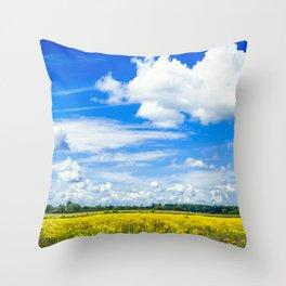 Michigan Bliss Throw Pillow