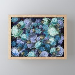"""""""Baroque floral with bugs"""" Framed Mini Art Print"""
