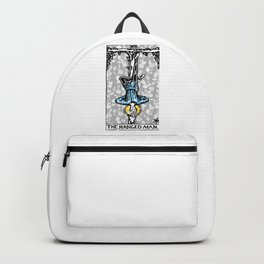 Floral Tarot Print - The Hanged Man Backpack