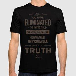 Detective Quotes T-shirt