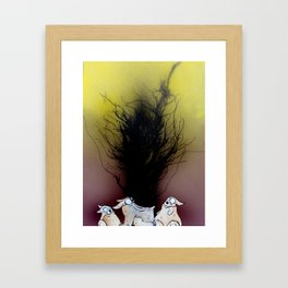 It Isnt The Flu Framed Art Print