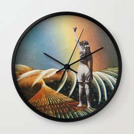 My brother is coming back home Wall Clock