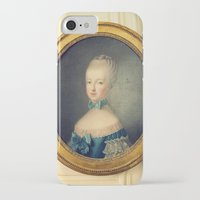 marie antoinette iPhone & iPod Cases featuring Marie Antoinette by happeemonkee
