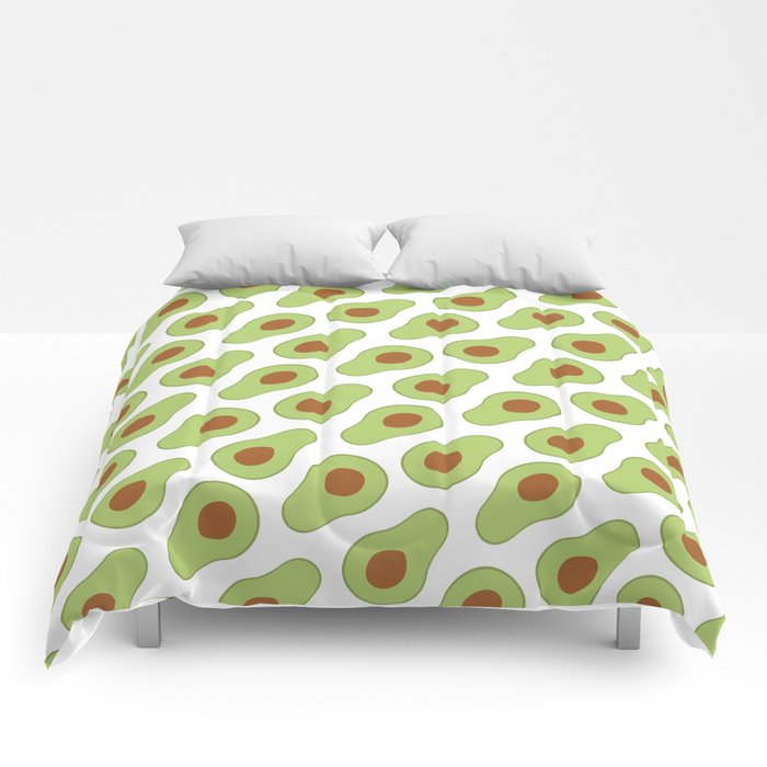 Mexican Avocado Comforters