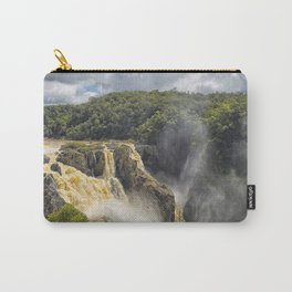 Beautiful wild waterfall Carry-All Pouch