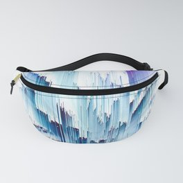 Pineapple crown - galactic glitch Fanny Pack