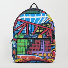 DownTown Cleveland Through My Eyes Backpack