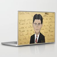 kafka Laptop & iPad Skins featuring Kafka by Pendientera