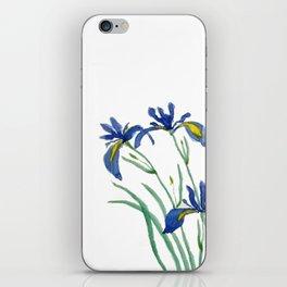 iris iPhone Skin