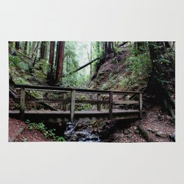 Bridge at Henry Cowell Rug