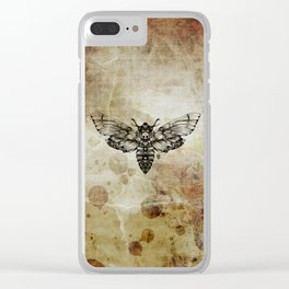 Moth Clear iPhone Case