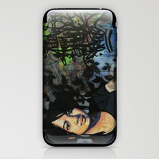 mariposas negras  iPhone & iPod Skin