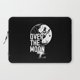 SURF OVER THE MOON Laptop Sleeve