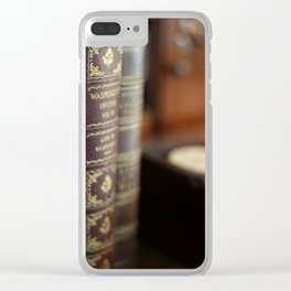 The Writing Desk - Ver 2 - 8x10 Clear iPhone Case