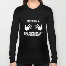 taken by a bearded beast music t-shirts Long Sleeve T-shirt