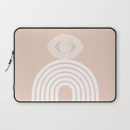 Abstraction_EYE_LINES_Minimalism_001 Laptop Sleeve