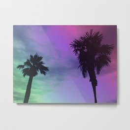 High Palms Metal Print