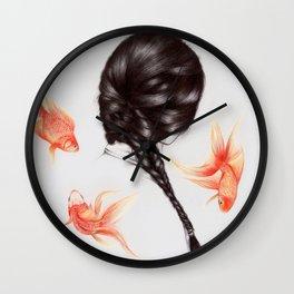 Hair Sequel  Wall Clock