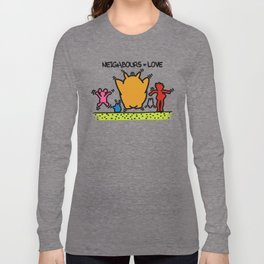 Keith Haring & The neighbours Long Sleeve T-shirt