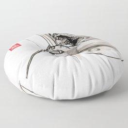 "Capoeira 482 ""Berimbau"" Floor Pillow"