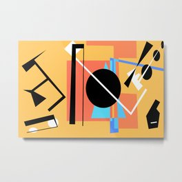 Bauhaus Pt.2 Metal Print