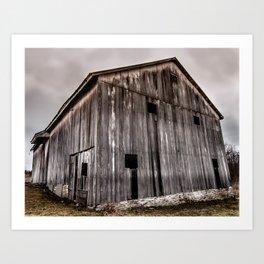 Stately Barn Art Print