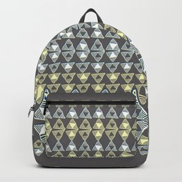 Ethnic Ornament / Canarys Curtain Backpack