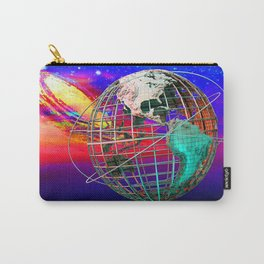 Earth and Andromeda Galaxy Carry-All Pouch