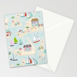 Summer On The Islands Stationery Cards
