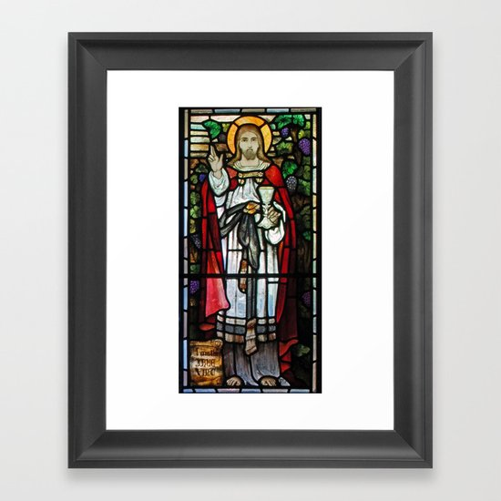 The True Vine Framed Art Print