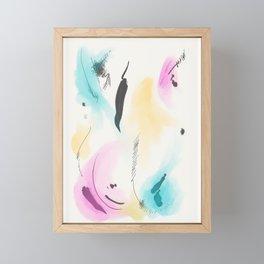 Abstract sunrise S4 Framed Mini Art Print