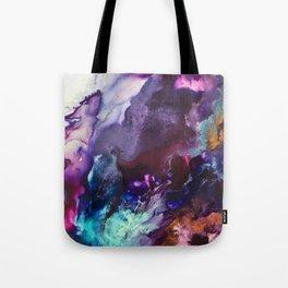 Expressive Flow 1 - Mixed Media Pain Tote Bag