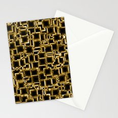 Boxey Gold Stationery Cards