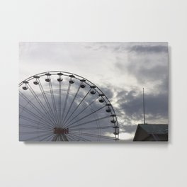 Copenhagen ferris wheel Metal Print