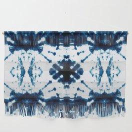Velvet Shibori Blue Wall Hanging