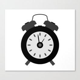 alarm clock Canvas Print