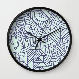 Abstract Pattern Wall Clock