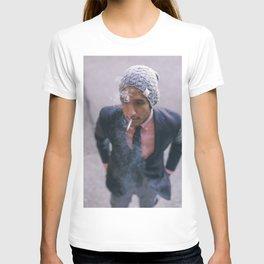 Man Smoking in Georgetown T-shirt