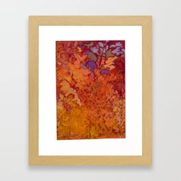 Autumn Blaze Framed Art Print