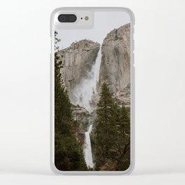 Yosemite Falls Clear iPhone Case
