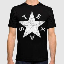 Retro Distressed TEXAS Lavaca Star T-shirt