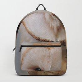 Barn Owl on Alert Backpack