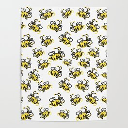 I love Bees Poster