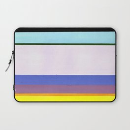 Stripes - Inspired by Light of Iris by Georgia O'Keeffe Laptop Sleeve