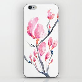 Japanese Magnolia iPhone Skin