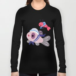 Cory cats on voyage Long Sleeve T-shirt