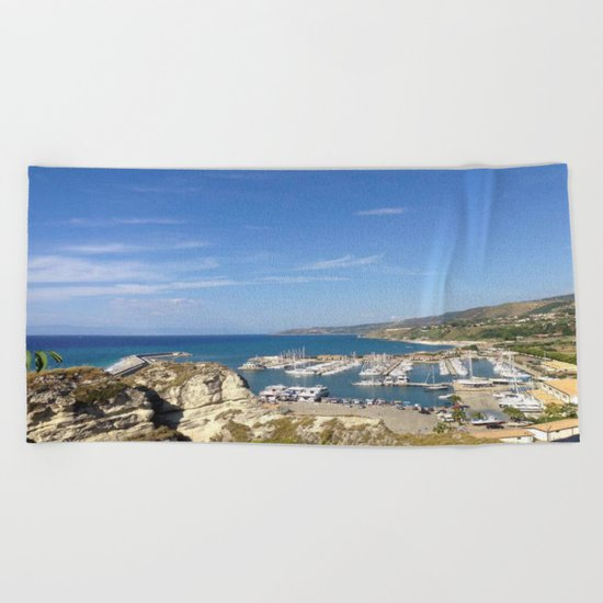Italian Beach 2 Beach Towel